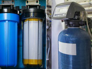 Water Softener vs Water Filter